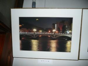 皆既日食の浅野川大橋