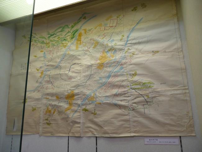 金沢古地図(安政元年